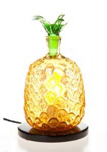 パイナップル:アロマボトルランプ