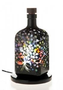 かすみ草:アロマボトルランプ