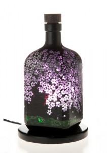 桜:アロマボトルランプ